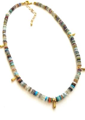 Heather Kahn Essential Stone Layer Necklace