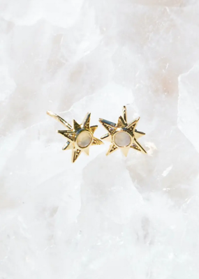 Native Gem Northstar Stud Earrings