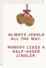 Slightly Stationery Jingler Card