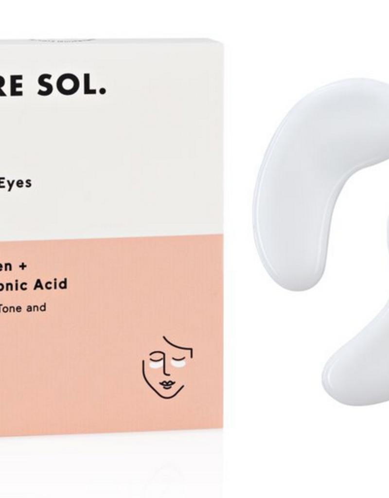 pure sol. Bright Eyes Eye Mask