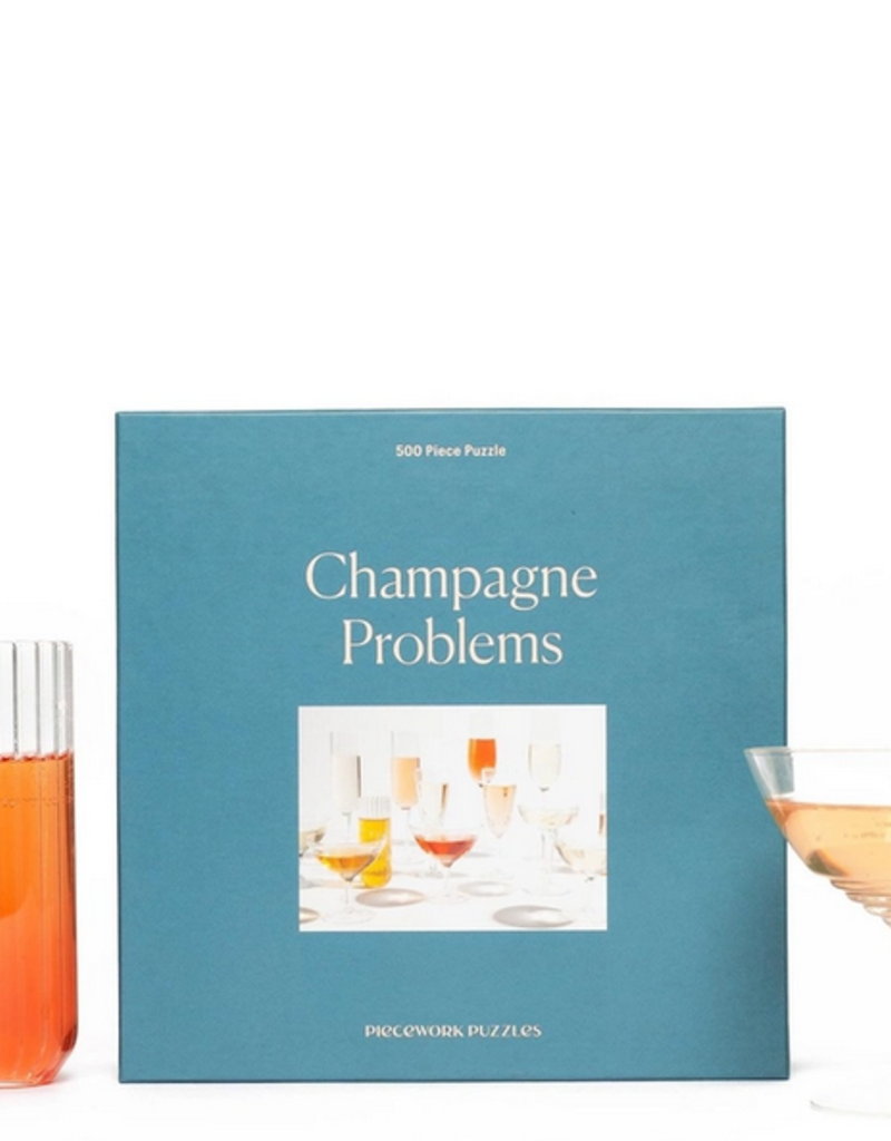 Piecework Champagne Problems Puzzle