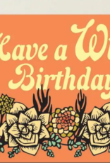 The Rainbow Vision HBD Wild Succulents Card