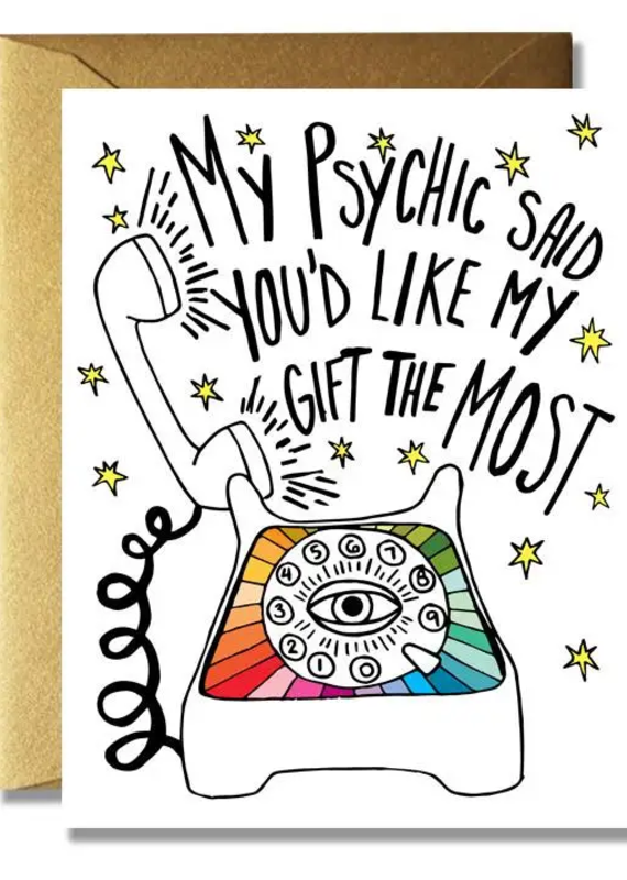 The Rainbow Vision My Psychic Said Card