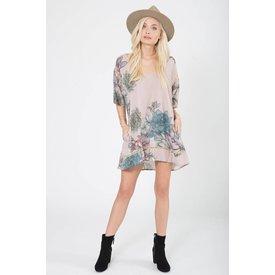 Stillwater LA Stillwater Pocket Tunic Dress Plants of Paradise