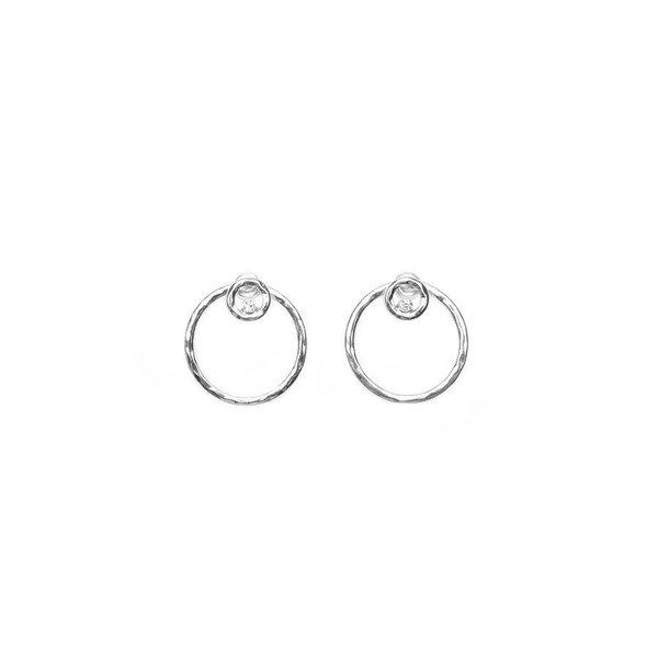 2 Bandits 2Bandits Circle Game Earrings