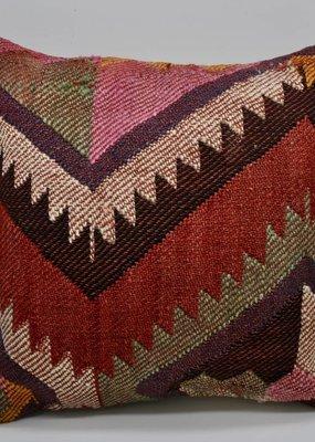 Bungalow Design Small Kilim Pillow Desert Purple