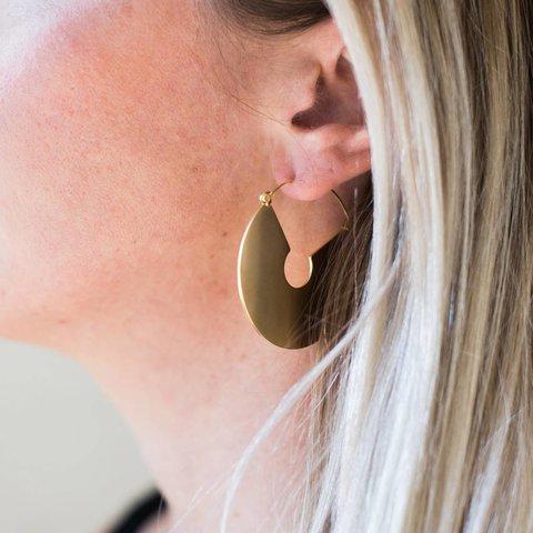 Jonesy Wood Rapp Earring