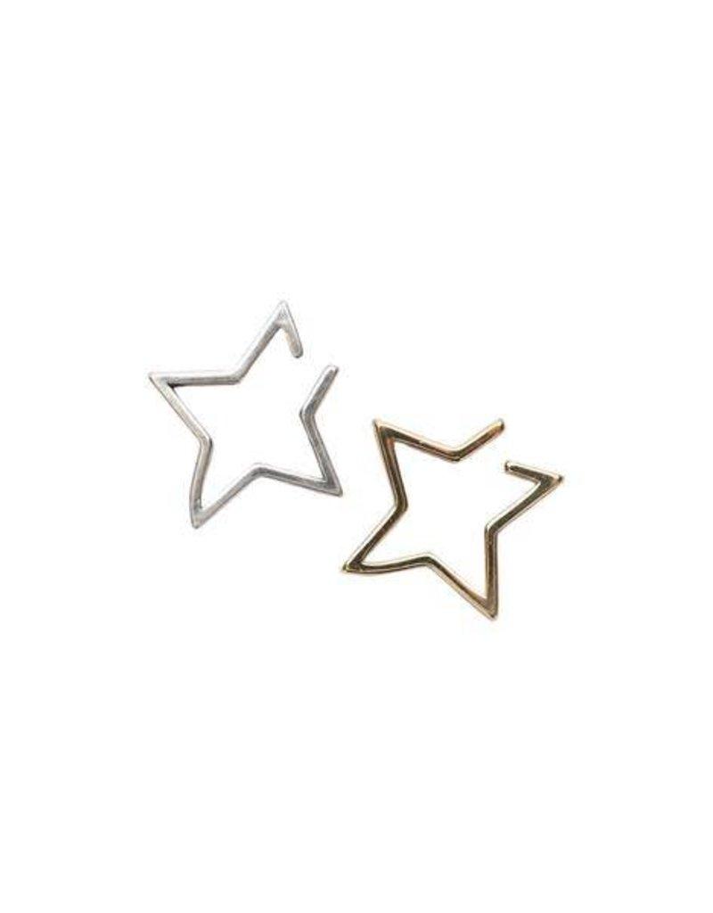 2 Bandits Star Ear Cuff