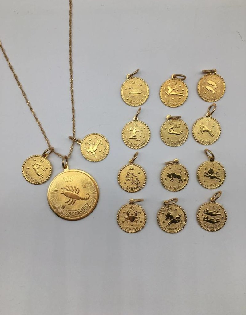 CAM Small Zodiac Pendant