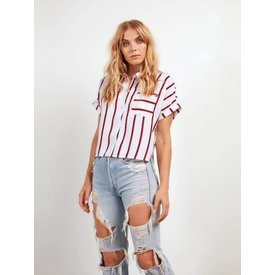 Stone Row Counting Moons Stripe Top