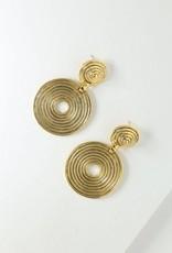 Vanessa Mooney Braxton Earring Gold