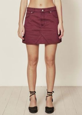 Rollas Claudia Skirt Bordeaux