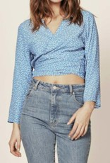 Rollas Delilah Blouse Mini Tulip French Blue