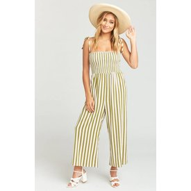 Show Me Your Mumu Parton Striped Playsuit