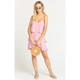 Show Me Your Mumu suarez ruffle dress pink