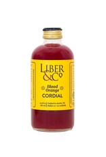 Liber & Co. Blood Orange Cordial (9.5 oz)