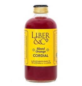 Liber & Co. Blood Orange Cordial (9.5 oz)