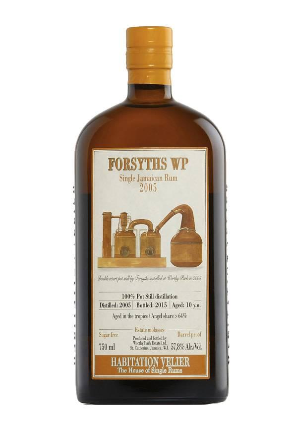 Habitation Velier Forsyths WP 2005 - 57.8% abv (750 ml)