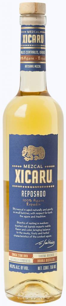 Xicaru Reposado Mezcal Mixing Glass Barrel Selection 2018 (750 ml)