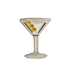 Love & Victory Pin- Martini