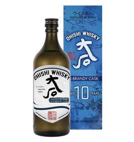 Ohishi 10 yr Brandy Cask Whisky 41.7% PRE-SALE (750ml)