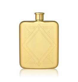 Belmont Deco Gold Flask