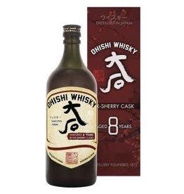 Ohishi 8 yr Sherry Cask 42.2% PRE-SALE (750ml)
