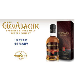 GlenAllachie 18 yr PRE-SALE (750ml)