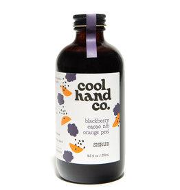 Cool Hand Co Blackberry Cacao Nib Orange Peel Shrub (8.5oz)