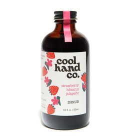 Cool Hand Co Strawberry Hibiscus Jalapeno Shrub (8.5oz)