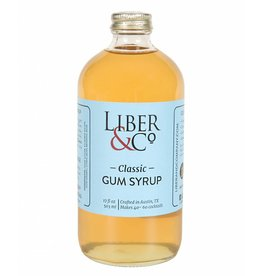 Liber & Co Classic Gum Syrup (17 oz)