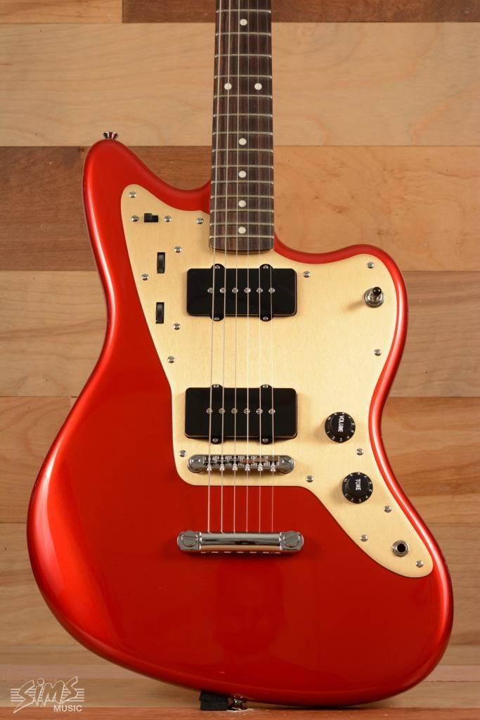 Squier Fender Deluxe Jazzmaster®  ST, Rosewood Fingerboard, Candy Apple Red