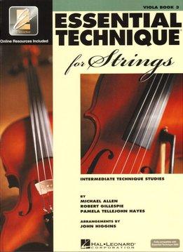 Hal Leonard Essential Technique Viola Book 3