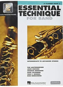 Hal Leonard Essential Technique Bb Clarinet Book 3