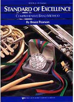 Kjos Standard of Excellence B-Flat Clarinet Book 2