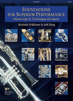 Kjos Foundations For Superior Performance Clarinet