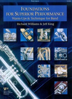 Kjos Foundations For Superior Performance - Percussion