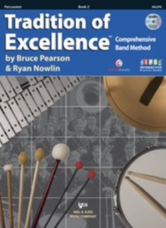 Kjos Tradition of Excellence Percussion Book 2