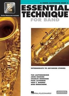 Hal Leonard Essential Technique Bb Tenor Sax Book 3