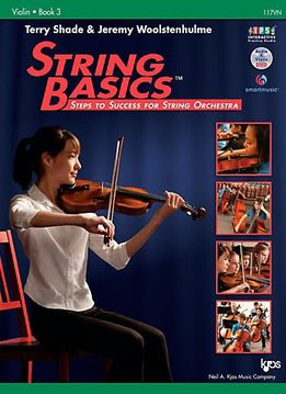 Kjos String Basics Violin, Book 3- Terry Shade