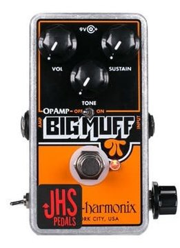 JHS JHS EHX OpAmp Muff Pumpkin Patch Mod