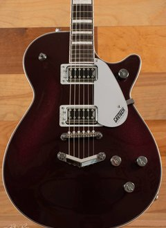 Gretsch Gretsch G5220 Electromatic® Jet™ BT Single-Cut with V-Stoptail,  Black Walnut Fingerboard,  Dark Cherry Metallic