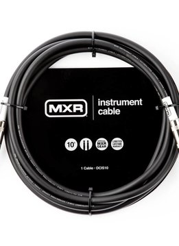 MXR MXR 10' Instrument Cable, Black