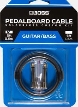 Boss Boss BCK-2 Pedalboard Kit, 2 Connectors/2 Ft. Cable