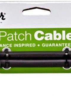 "Fender Fender 2pk 6"" Patch Cable Black"