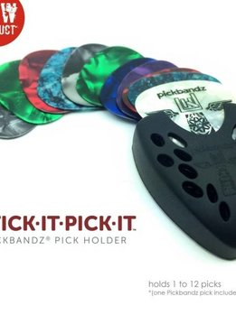 Pickbandz Pickbandz Stick It Pick It - Black