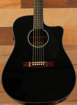 Fender CC-60SCE Acoustic/Electric, Black