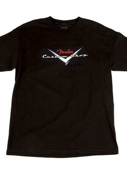 Fender Fender® Custom Shop Original Logo T-Shirt, Black, M