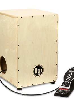 LP LP® 2-Sided Cajon with DW Cajon Pedal
