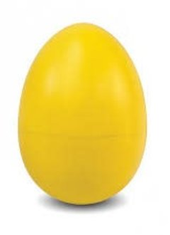 Green Tones Wood Egg Shaker Yellow